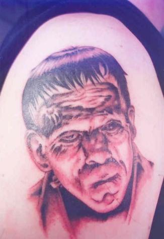 Bonnie Jean, Tattoo by Design, Frankenstein