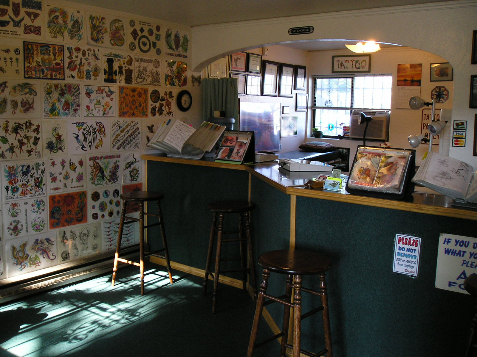 tattoo shop interior desing joy studio design gallery